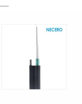 Professional Customize good flexibility 1 core fiber optic blue cable