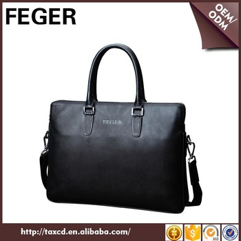 Feger New Arrival Leather Laptop Bag Fashion Men Leather Business ...