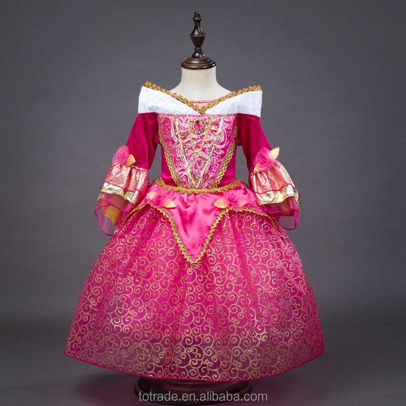 Venta al por mayor vestido de la bella durmiente-Compre online los ...
