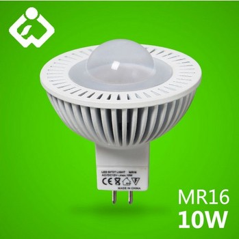 Mini Size 50*53mm 5w 7w 10w Chips 10w Mr16 High Power Led Spot ...