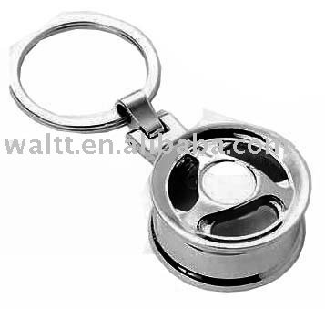 Wheel Rim key chains Automobile parts key holder