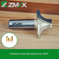 Arden CNC Router Bit Plunging Round-over Bit 0601 for Wood/ MDF/ Acrylic