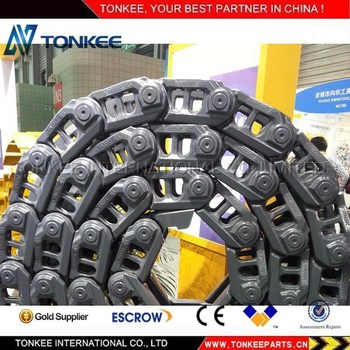EXCAVATOR UNDERCARRIAGE PC650 TRACK CHAIN PC650 TRACK LINK