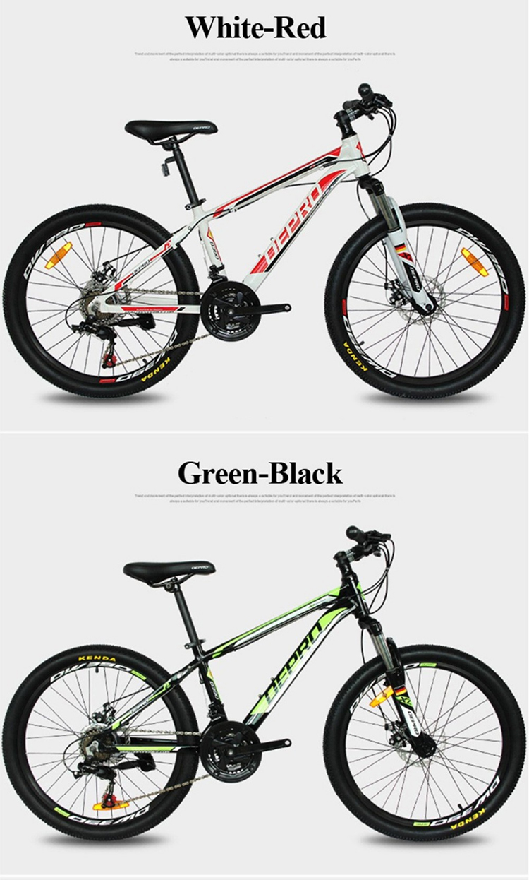 Nueva 21 Velocidad 24 Pulgadas 9-13 Y Estudiantes Bicicletas De ...