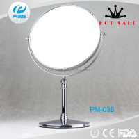Chinese metal glass frame round shaped magnifying mirror