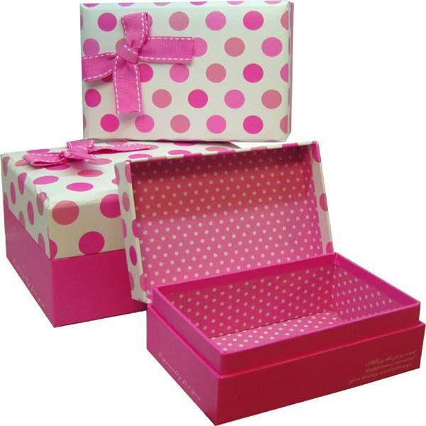reciclado hecho a mano papel embalaje caja para regalo