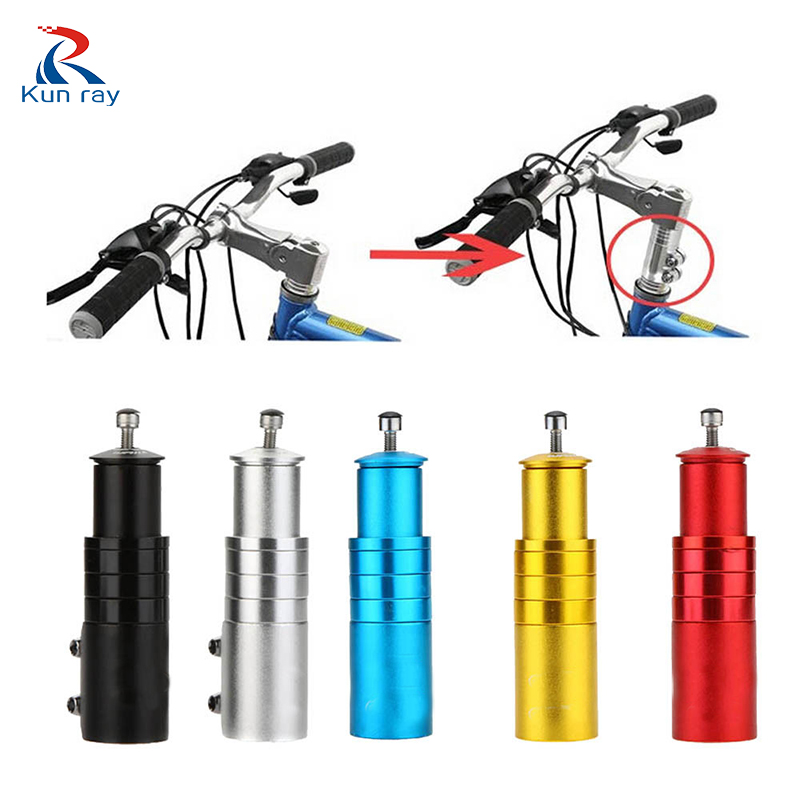 Aluminum Alloy Bicycle Stem Increased Control Tube Extender Handlebar Stem Heighten Bike Front Fork Bicycle Parts