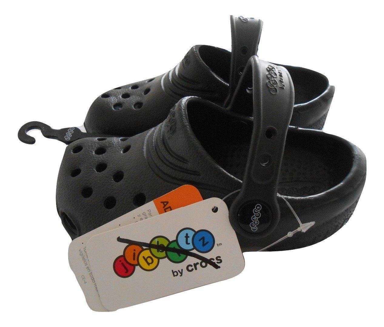d005a6b1dcc Jibbitz By Crocs Black Croc Girl s Shoes Size 8 9 New Nwt
