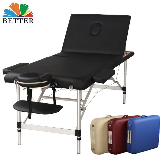 Lettino Da Massaggio Portatile In Alluminio.Migliore 3 Sezione Di Alluminio Lettino Da Massaggio Portatile