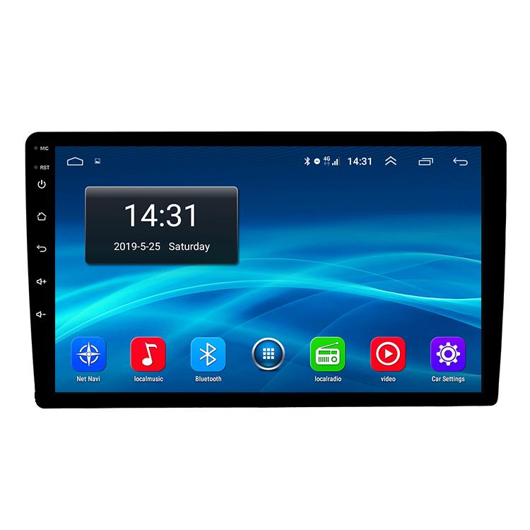Android 9,0, новый продукт, GPS-навигация, 9 дюймов, 1 + 16 ГБ, Wi-Fi, Bluetooth, Универсальная автомобильная аудиосистема Android