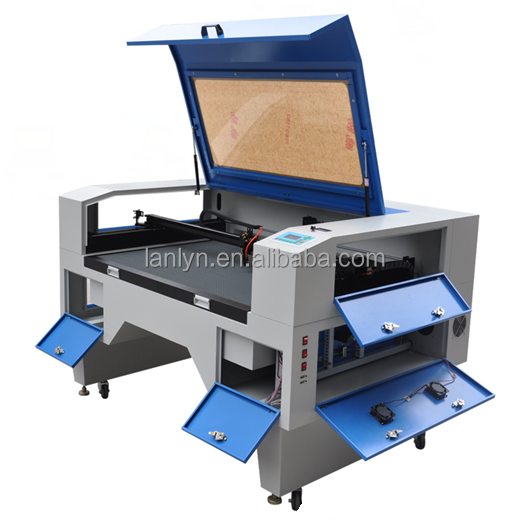 1600*1000mm dual heads CO2 lasersnijmachine/grootformaat tailoring lasersnijmachine