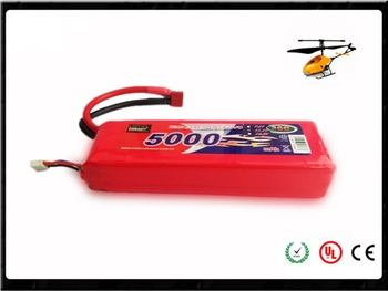3S 11.1V 30C li-Polymer rc LiPo 5000mah li-polymer rechargeable battery RC toy/hobby/car/helicopter