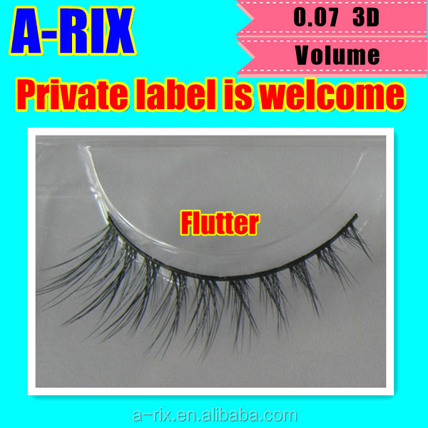 House lash luxe black best 0.05 3D mink strip lash