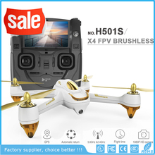 Bingo Hubsan H501S X4 5.8G FPV Original Quadcopter with 1080P HD camera GPS hold One-key return Headless mode Tracking Lock