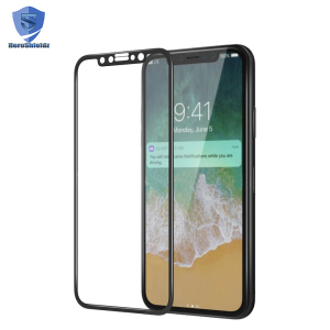 Manufacture 6D Curved Tempered Glass For Mobile Phone,0.33mm 9H Full Cover Premium Tempered Glass Screen Protector For iPhone X