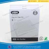 Vax Genuine Type 114 Air Purifier Filter Kit Hepa Filter for Kitchen & Home