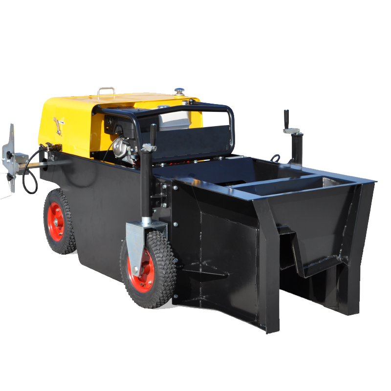 Automatic Concrete Curb Paver Machine With Gasoline Engine