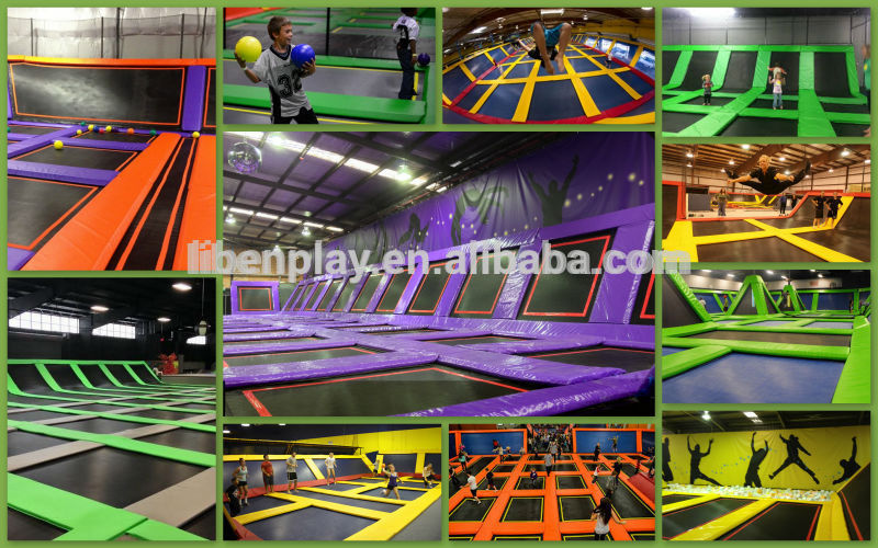 Inflatable Size Cheap Square Gymnastic Bungee Trampoline