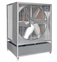 Aluminium air cooler, portable evaporative air cooler evaporator