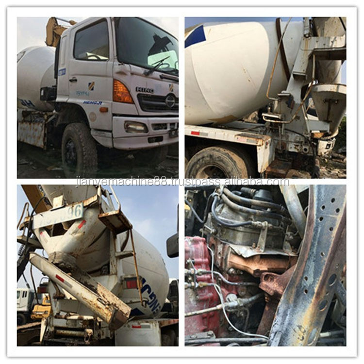 Hot Sell 8 Cubic Meters Used Concrete Mixer Truck With Pump