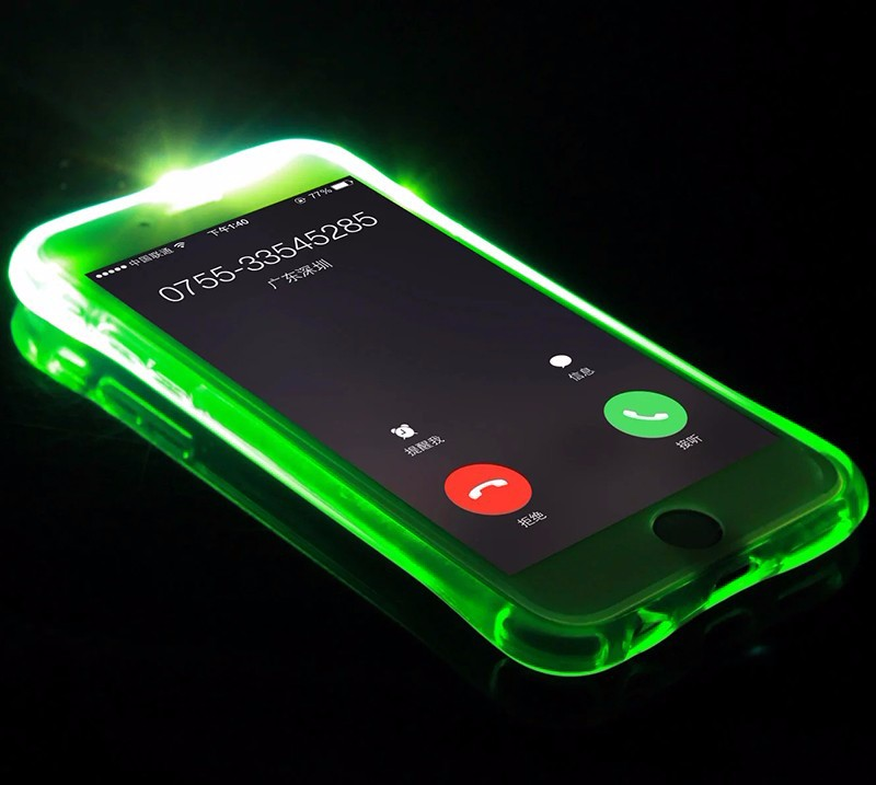huge discount 09672 6b291 Led Light Up Phone Cover Case For Samsung Galaxy A3 A5 A7 S6 S7 Edge S8  Plus Note 4 5 A8000 A9000 J3 J5 J7 Prime - Buy Light Up For Samsung  Case,Flash ...
