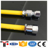 New Flexible Stainless Steel Yellow-coated Gas Line hose