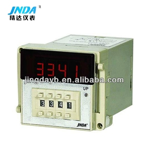 Intelligent count, total length, frequency 4 digits single row display measuring instrument