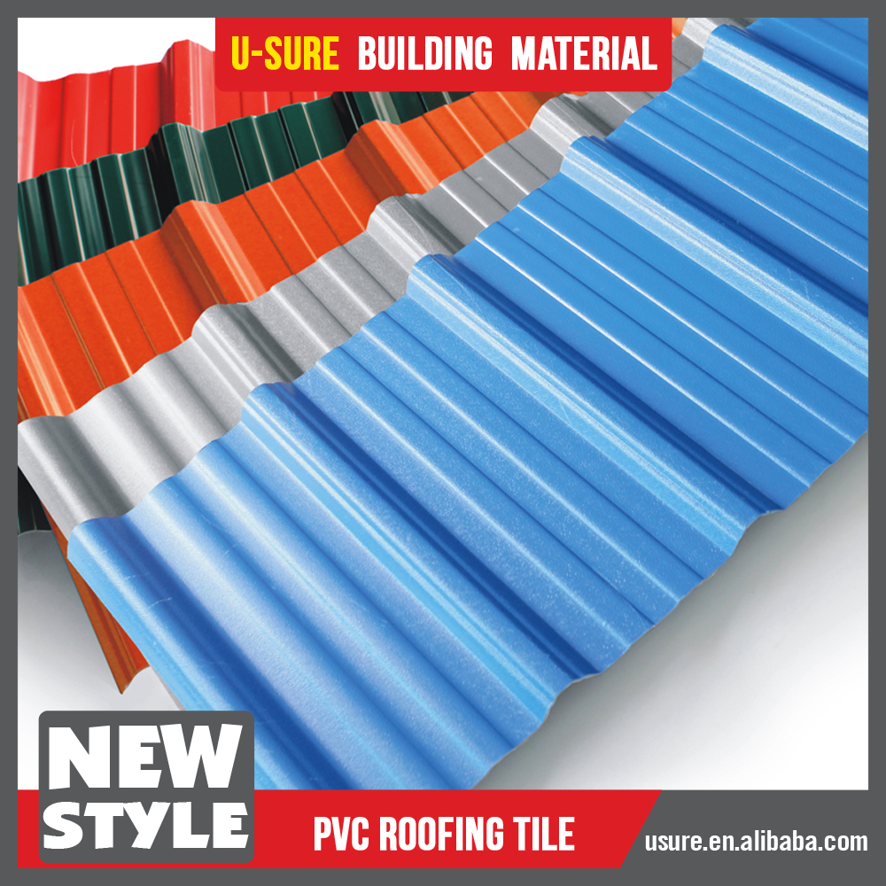 Outdoor Plastic Roofing / Gazebo Rubber Roofing Material / Mobile House  Prices Tin Roofing