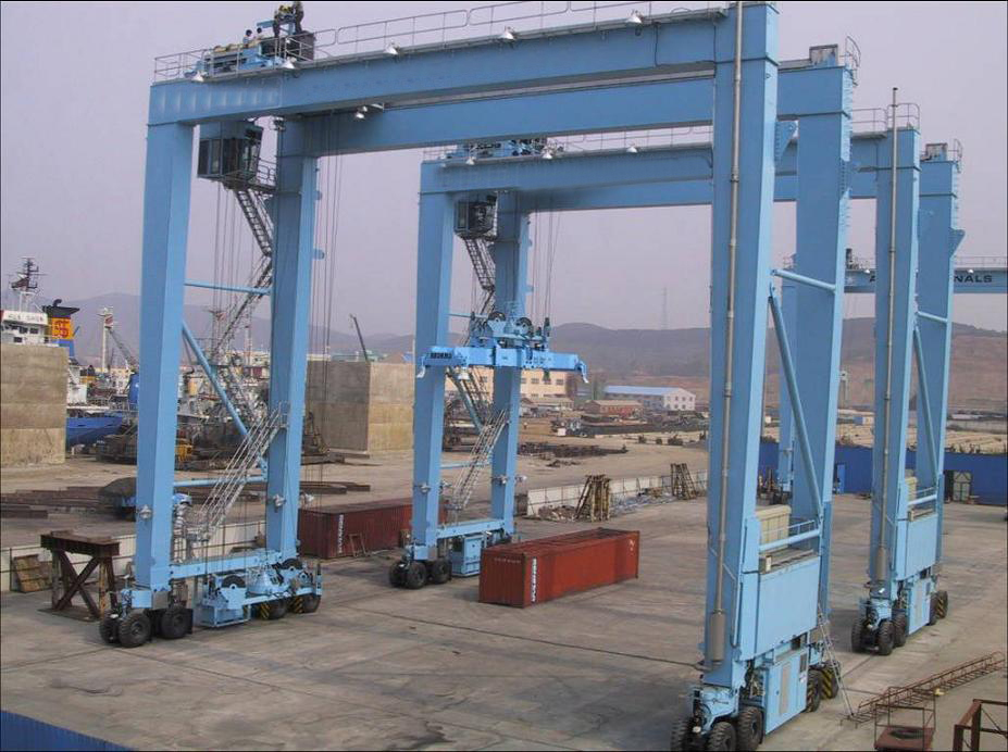 Wireless Remote Control rtg 200t port crane for sale Price