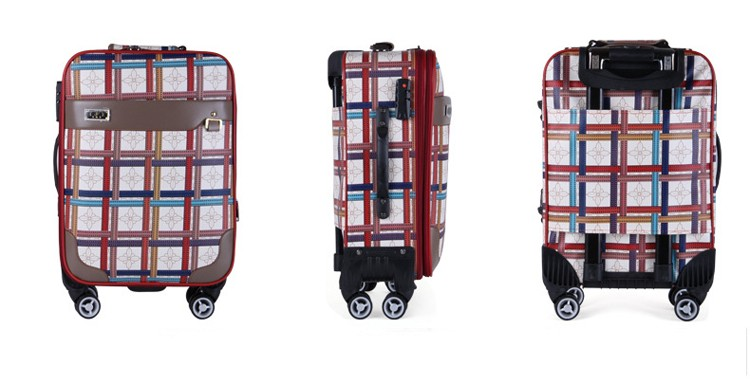 Very Cheap 4 Wheels Hard Case Delsey Travel Bag Trolley Luggage ...