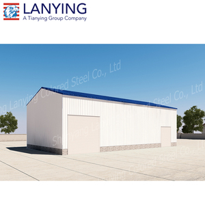2017 new style steel structure prefab warehouse