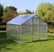Greenhouse hydroponics structure small seedbed green house
