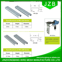JZB-hog c rings staple/hog c ring nail/hog ring 15G 100p