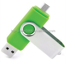 8g 16g 32g 64g double slider dual multifunctional wireless phone usb flash drive computer pendrives flash otg pen drive