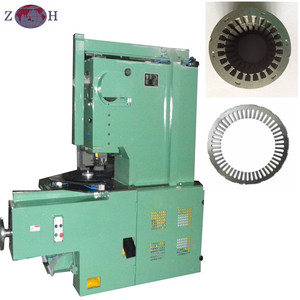 Automatic CNC stator rotor lamination notching press with stator rotor forming one time