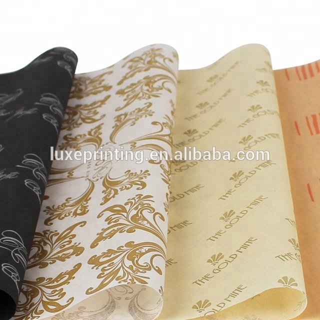 Custom printed soft free clothing gift decorations wrapping tissue paper for apparel packaging