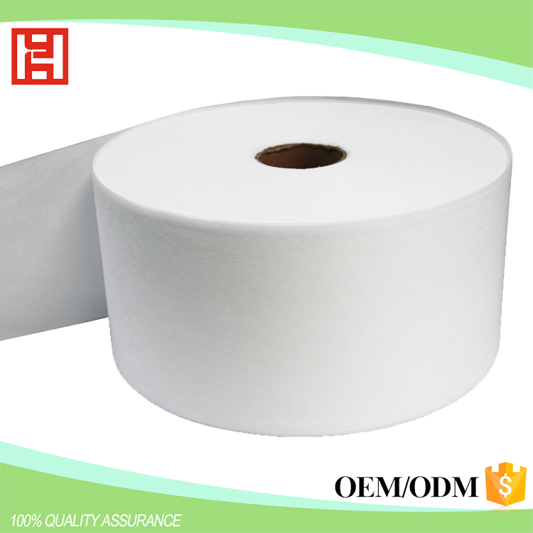 China PP Breathable SMS Polypropylene Spunbonded Nonwoven Fabric Waterproof Fabric For Baby Diaper Core Coating