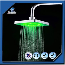 2016 Eco-friendly Hot Sale Cheap Price Promotional Portable LED Overhead Rain Shower