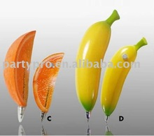 2012 artificial fruit pen with magnet for decoration