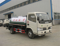 Dongfeng 4*2 3.67m3 high pressure water tanker truck for sale