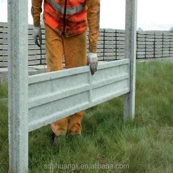 Precast Interlocking Concrete Fence Panels Machine For Garden Fencing