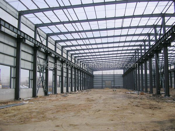 portal frame climatized cow barn steel structure industrial shed designs fabricated steel prices