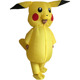 Adults Inflatable Pikachu Costume Pokemon Cosplay Halloween Costume for adults pikachu costume For Halloween Mascot