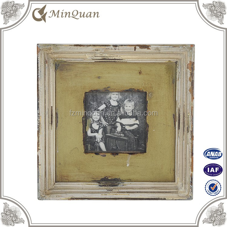 wholesale antique mini wood picture frame manufacturer