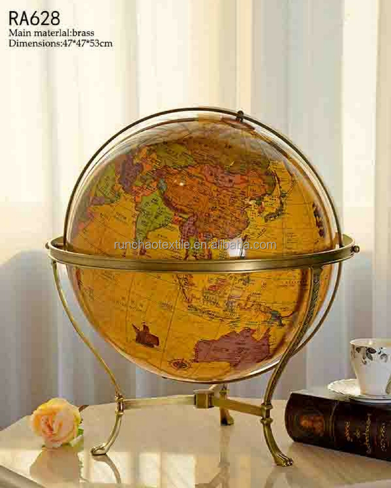 Unique world globe new product wholesale china home decoration pieces