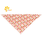 Fashion Print Dog Bandana Collar Dog Accessories Custom Wholesale