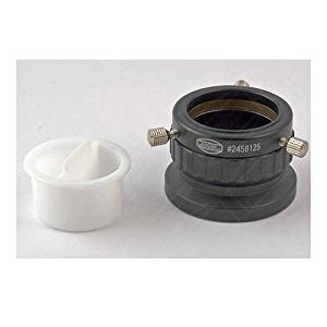 """Baader Planetarium 1.25""""/T-2 Focusing Eyepiece Clamp with Dual Clampscrews and Compression Ring"""