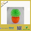 Hot Sales Artificial Pineapple Honeycomb Decoration For Party /Tissue Paper Decoration
