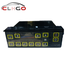 Hyun dai air conditioner control panel 11N6-90031 for Hyun dai 215\225\135\150\235-7 excavator/Hyundai Excavator parts