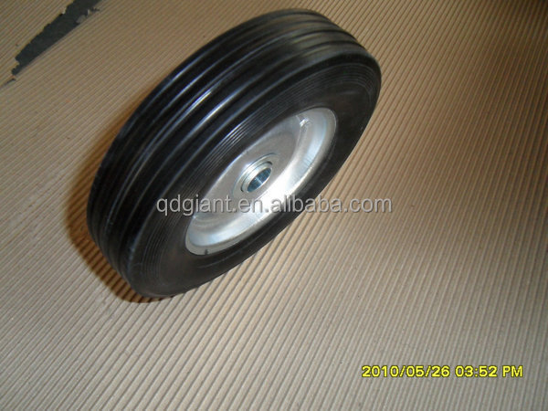 150mm standard rubber wheels